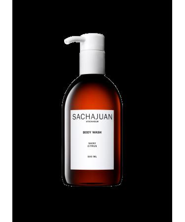 Гель-мыло для рук цитрус с эффектом увлажнения Sachajuan Hand Wash Shiny Citrus
