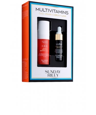 Набор Multivitamins C.E.O. Vitamin C Serum and Luna Kit Sunday Riley