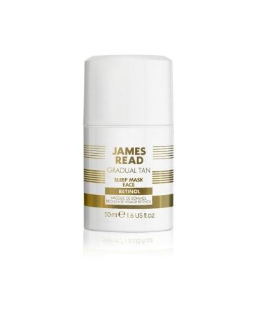 Ночная маска для лица с эффектом загара с ретинолом SLEEP MASK TAN FACE RETINOL JAMES READ