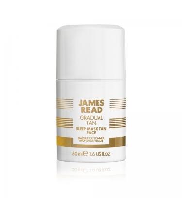 Ночная маска для лица с эффектом загара (обычная) SLEEP MASK TAN FACE James Read