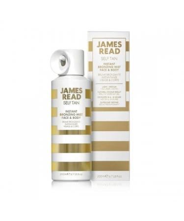 Спрей-автозагар для лица и тела INSTANT BRONZING MIST FACE & BODY James Read