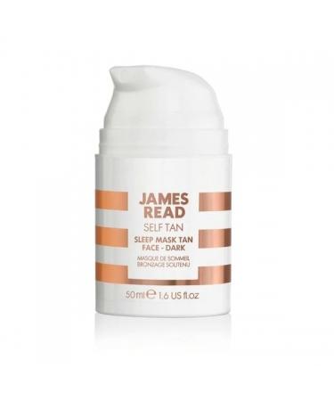 Ночная Маска для Лица с Эффектом Загара (Темная) James Read Sleep Mask Tan Go Darker Face