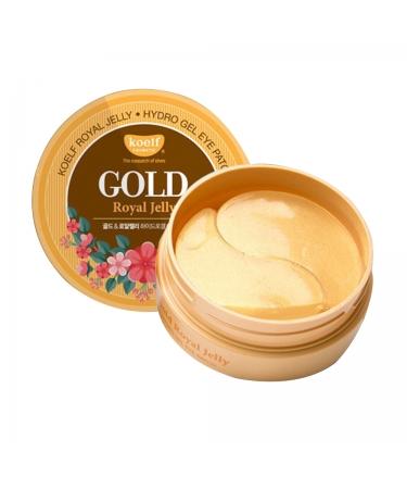 Патчи с золотом и маточным молочком KOELF