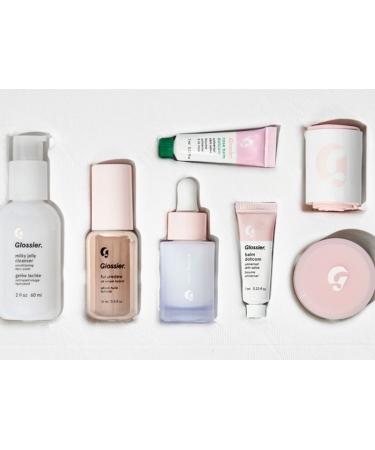 Набор для ежедневного ухода за кожей Glossier The Skincare Edit