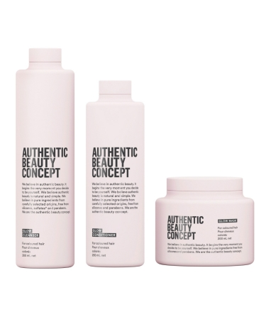 Комплекс для блеска волос Glow Authentic Beauty Concept