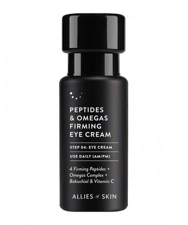 Омолаживающий крем для век Allies of Skin Peptides & Omegas Firming Eye Cream