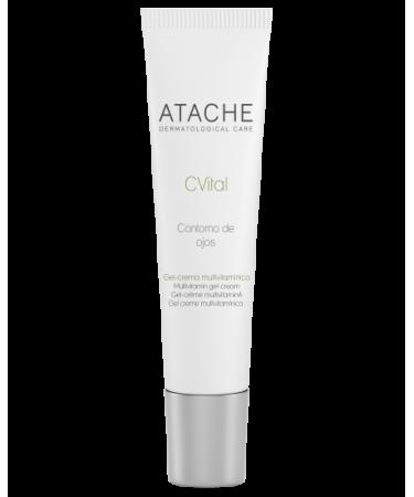 9 Мультивитаминный крем для глаз с Витамином А+С Atache C Vital Multivitamin Eye Contour Cream