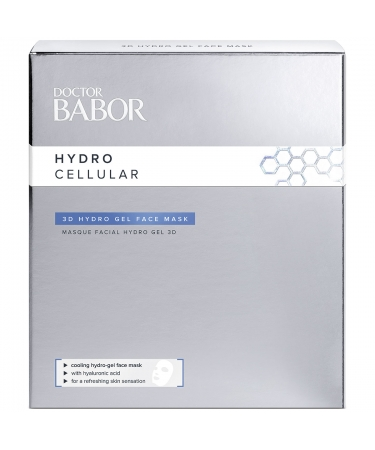 3d гидрогелевая увлажняющая маска для лица Babor