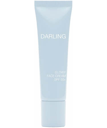 Солнцезащитный крем для лица и зоны декольте Darling Glowy Face Cream SPF 50+