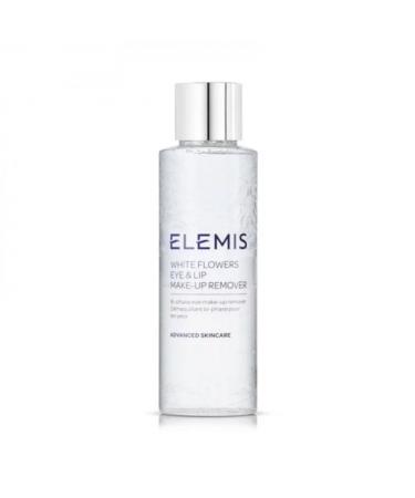 Двухфазный лосьон для демакияжа Elemis White Flowers Eye & Lip Make Up Remover