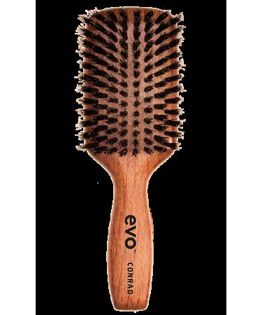 Щетка с натуральной щетиной волос Evo Conrad Natural Bristle Dressing Brush