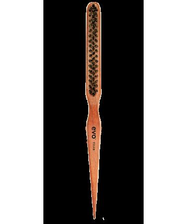 Узкая щетка с натуральной щетиной Evo Tyler Natural Bristle Teasing Brush