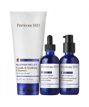 Набор от высыпаний 90-Дневный режим Perricone MD BLEMISH RELIEF Prebiotic Blemish Therapy 90-Day Regimen