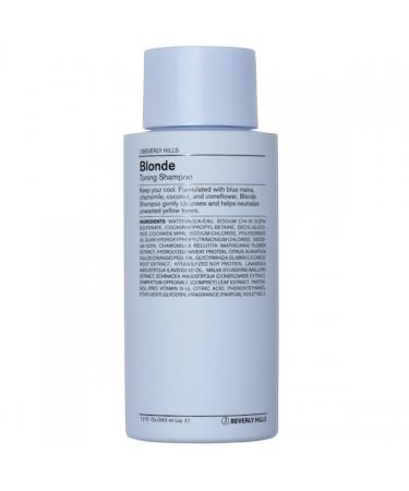 Тонирующий шампунь для блондинок J Beverly Hills Blonde Toning Shampoo
