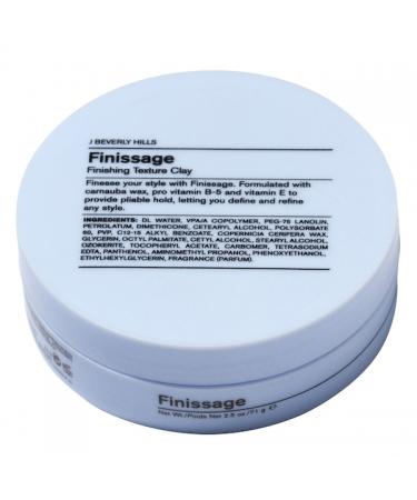 Текстурная глина для волос J Beverly Hills Finissage Finishing Texture Clay