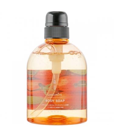 Освежающий гель для душа Lebel IAU Lycomint Body Soap