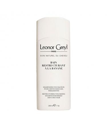 Восстанавливающий шампунь для волос с химической завивкой Leonor Greyl Bain Restructurant a La Banane