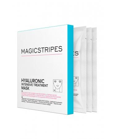 Гидрогелевая маска с гиалуроновой терапией MAGICSTRIPES  Hyaluronic Intensive Treatment Mask Box