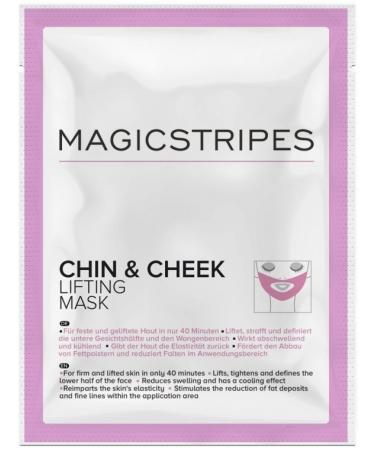 Маска с эффектом лифтинга для подбородка и щек Magicstripes Chin and Cheek Lifting Mask Sachet