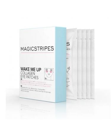 Коллагеновые патчи для кожи вокруг глаз Magicstripes Wake Me Up Collagen Eye Patches
