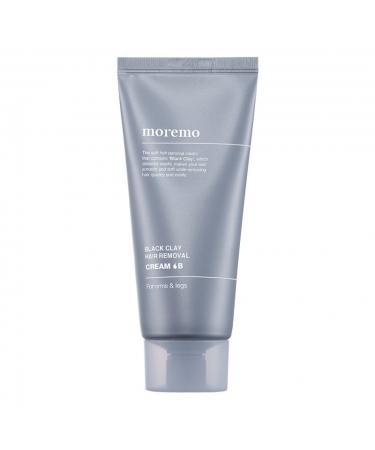 Крем для депиляции с черной глиной Moremo Black Clay Hair Removal Cream B