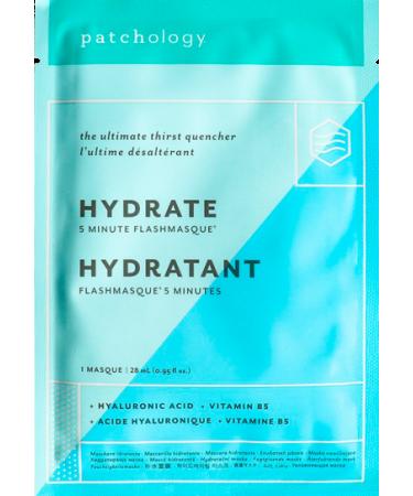 Маска для увлажнения кожи Patchology FlashMasque Hydrate 5 Minute Sheet Mask