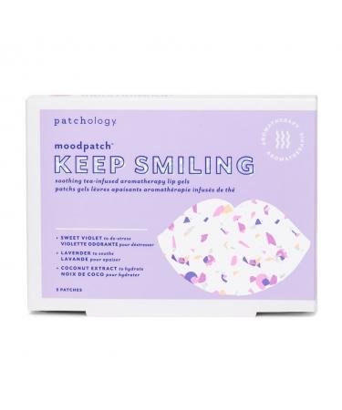 Успокаивающие патчи для губ Patchology Moodpatch Keep Smiling Lip Gels