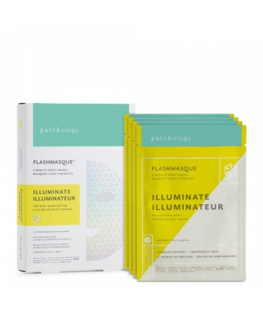 Маска для сияния кожи  Patchology FlashMasque Illuminate (4 шт)