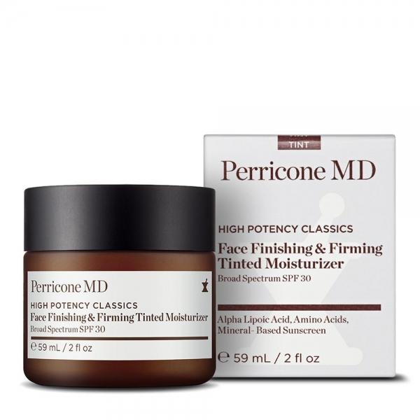 Увлажняющий крем с тонирующим эффектом и SPF 30 Perricone MD Finishing & Firming Moisturizer Tint SPF 30
