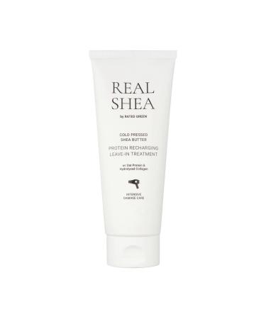 Восстанавливающий термозащитный крем для волос RATED GREEN Shea Butter Leave-in Treatment