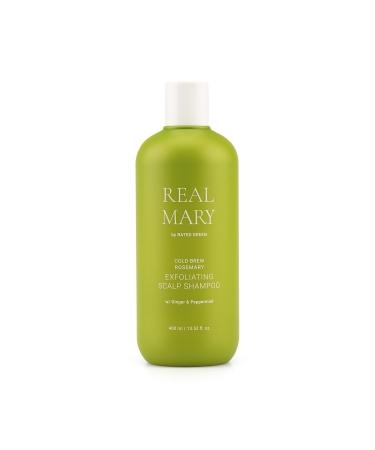 Глубоко очищающий шампунь RATED GREEN Real Rosemary Exfoliating Scalp Shampoo