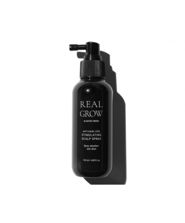 Стимулирующий спрей от выпадения волос RATED GREEN Real Grow Anti Hair Loss Stimulating Scalp Spray