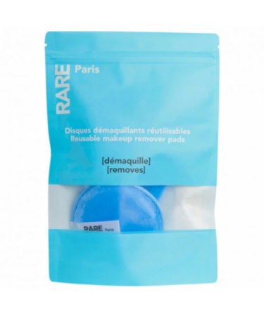 Многоразовые диски для снятия макияжа RARE Paris Carbone Glace Reusable Makeup Remover Pads