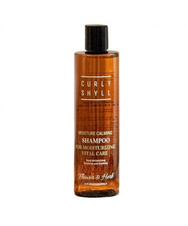 Увлажняющий успокаивающий шампунь Curly Shyll Moisture Calming Shampoo